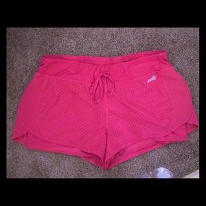 NWT Women's XL jogging shorts Pink w/drawl string
